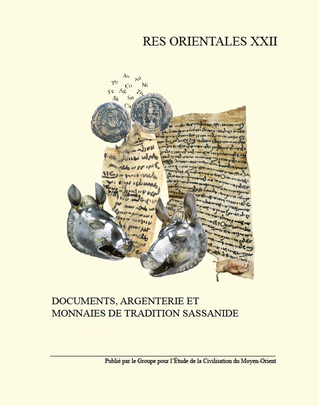 Argenterie, documents et monnaies de tradition sassanide